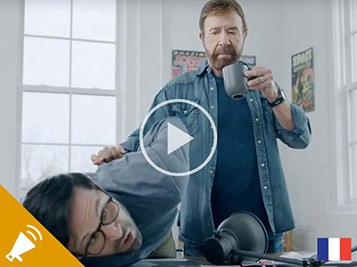 NonStop Chuck Norris Press Announcement Trailer