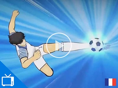 Captain Tsubasa: DreamTeam French TV commercial