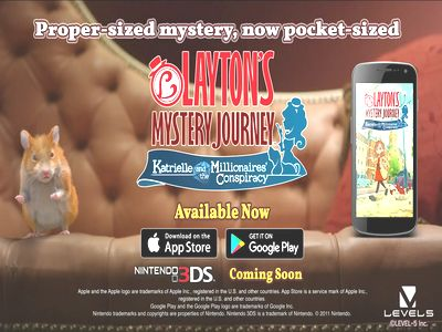 Layton Mystery Journey TVC