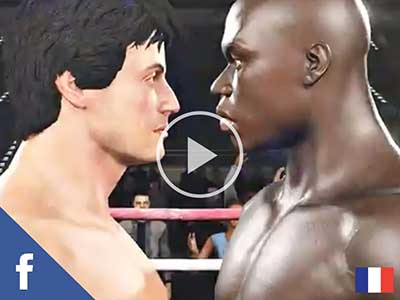 Real Boxing 2 Rocky Facebook Ad