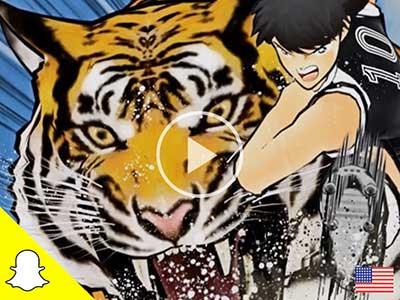 Captain Tsubasa: DreamTeam Snapchat ad