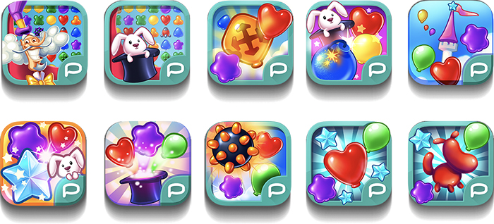 Balloony Land icons