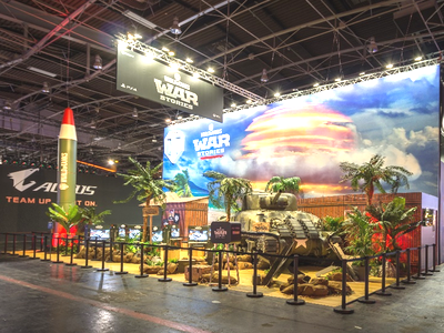 World of Tanks Booth